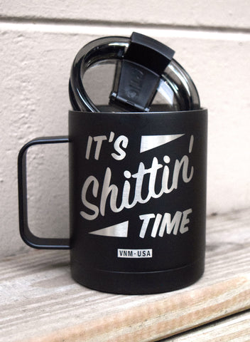 COFFEE TIME - STAINLESS STEEL COFFEE MUG