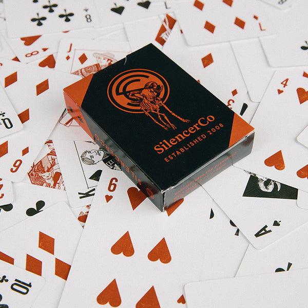 SilencerCo Playing Cards