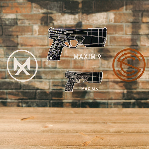 Maxim 9 Sticker Pack