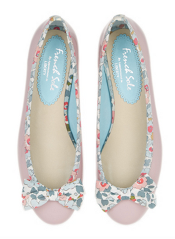 comfy ballerina flats for brides
