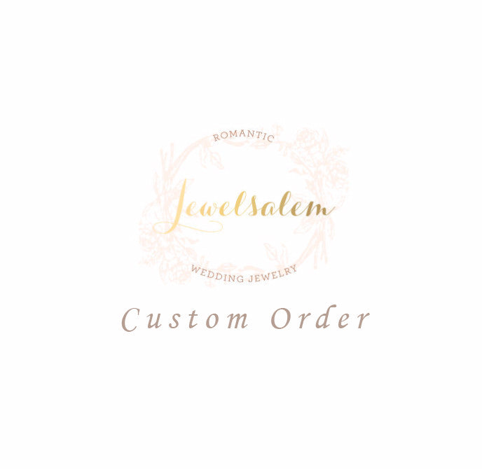 Custom order - Jewelsalem