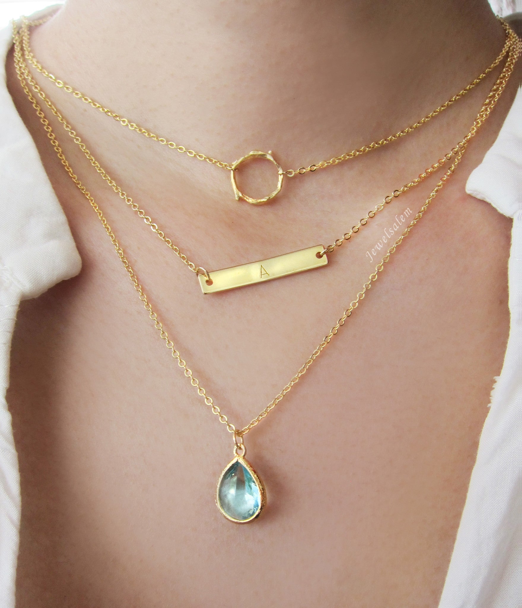 image gallery modern necklaces