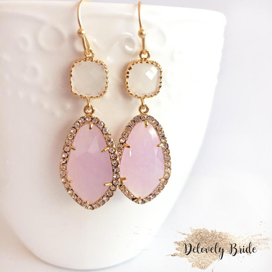 Etoile Earrings - Rose Blush