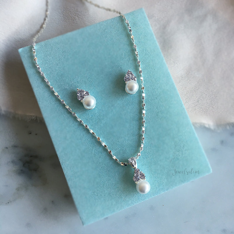 Ashley - Bridesmaids Jewellery Earrings Necklace Gift Set