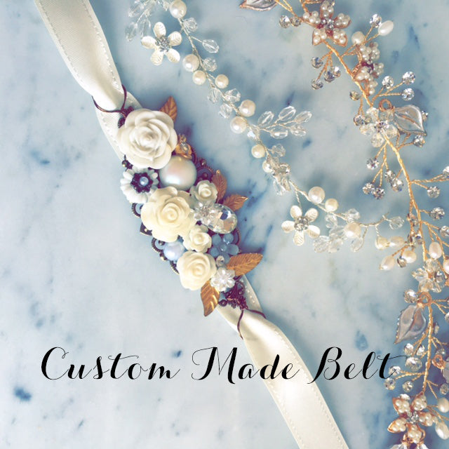 Personalised Bridal Belt