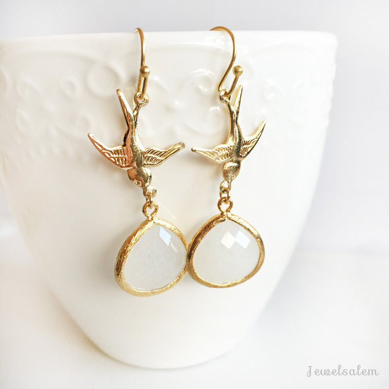 Freedom Bird Earrings - Jewelsalem
