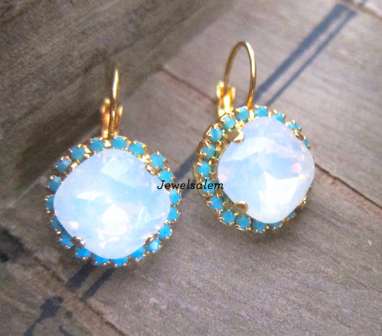 Delovely - Swarovski Crystal Earrings - Jewelsalem
