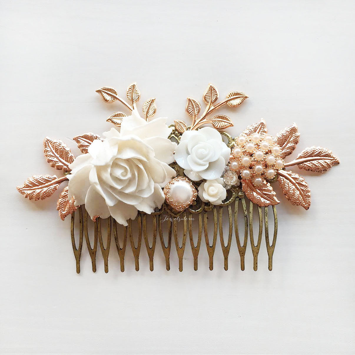 Sophia - Rose Gold Grand Wedding Hair Comb (Limited Edition)