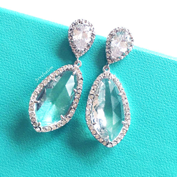Alexis - Cubic Zirconia Earrings - Jewelsalem