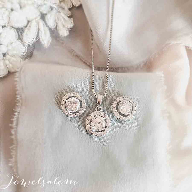 Ashley - Bridesmaids Gift Set Wedding Jewelry
