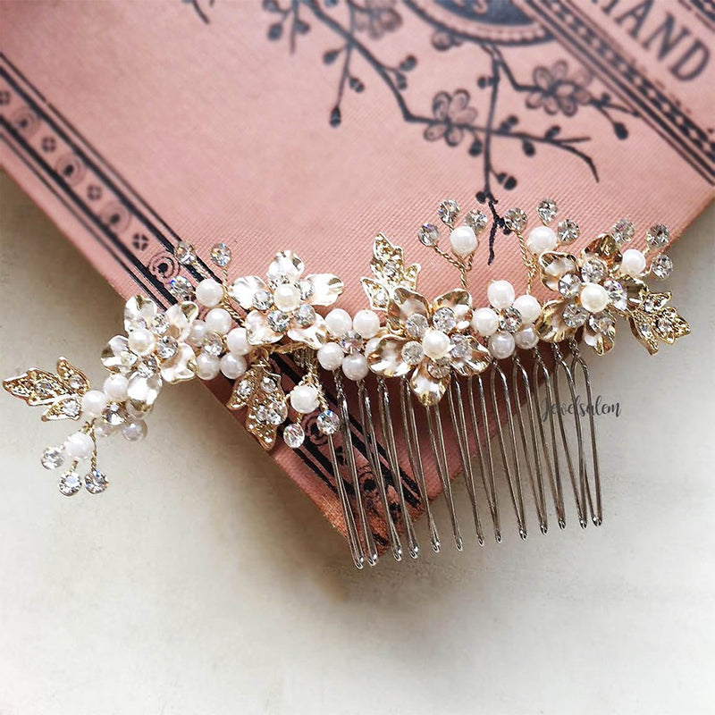 Kelly - Swarovski Crystal Wedding Hair Comb