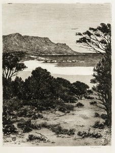 Spilhaus, Nita: Untitled (beach scene)
