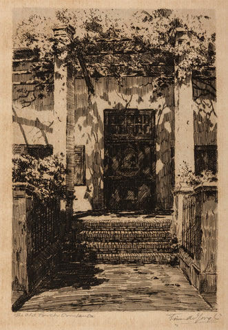 The old porch, Constantia