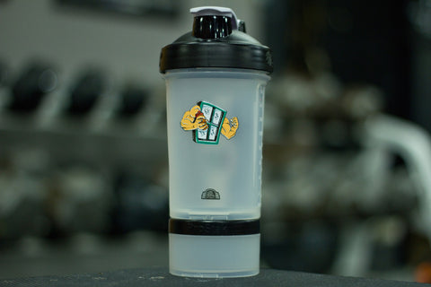 Window of Gainz Blender Bottle ProStak w/150cc Storage