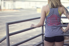 Window of Gainz Women's Tank - Gray