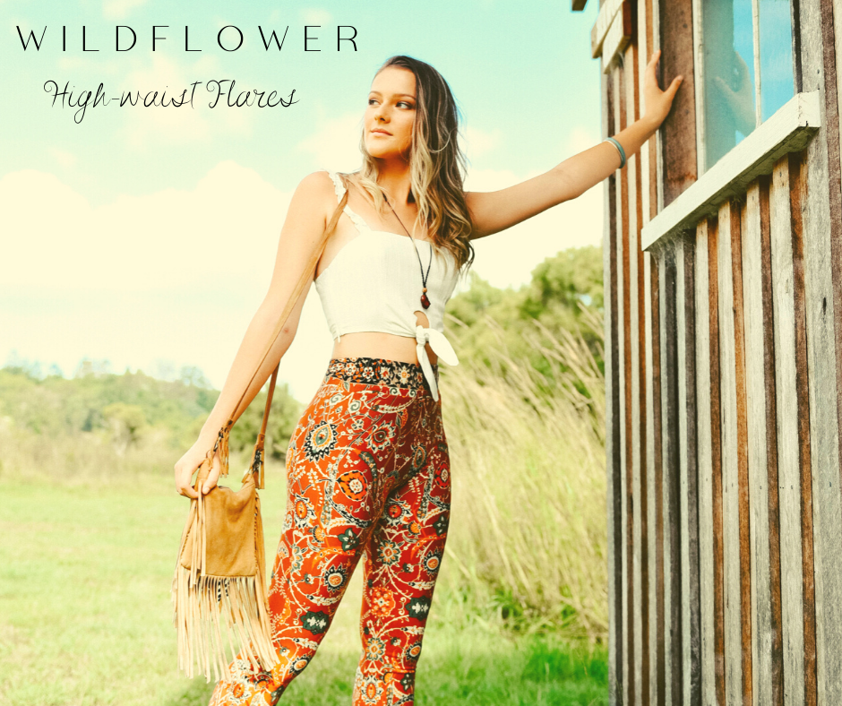 Wildflower Flare Pants
