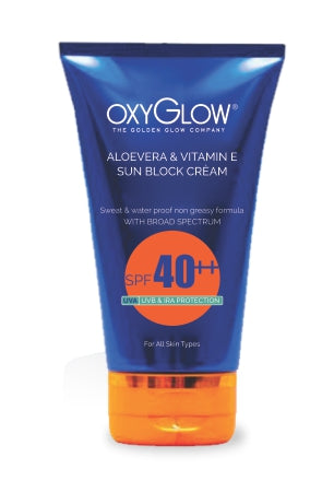 Oxyglow Aloe vera and carrot cream- SPF 40+++