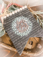 """Joy to the World"" Banner Christmas Craft Kit"