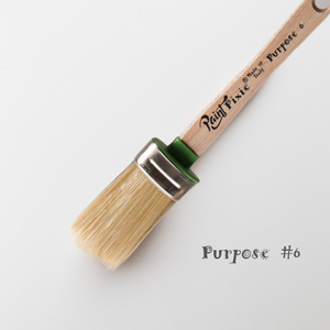 PURPOSE #6 OVAL BRUSH (Paint Pixie)
