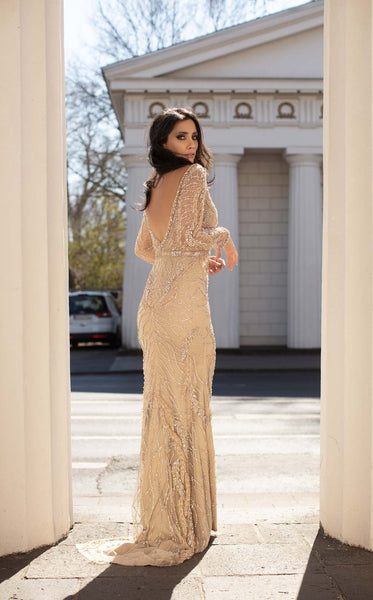 CHIC AND HOLLAND HF1476 DRESS - Elbisny