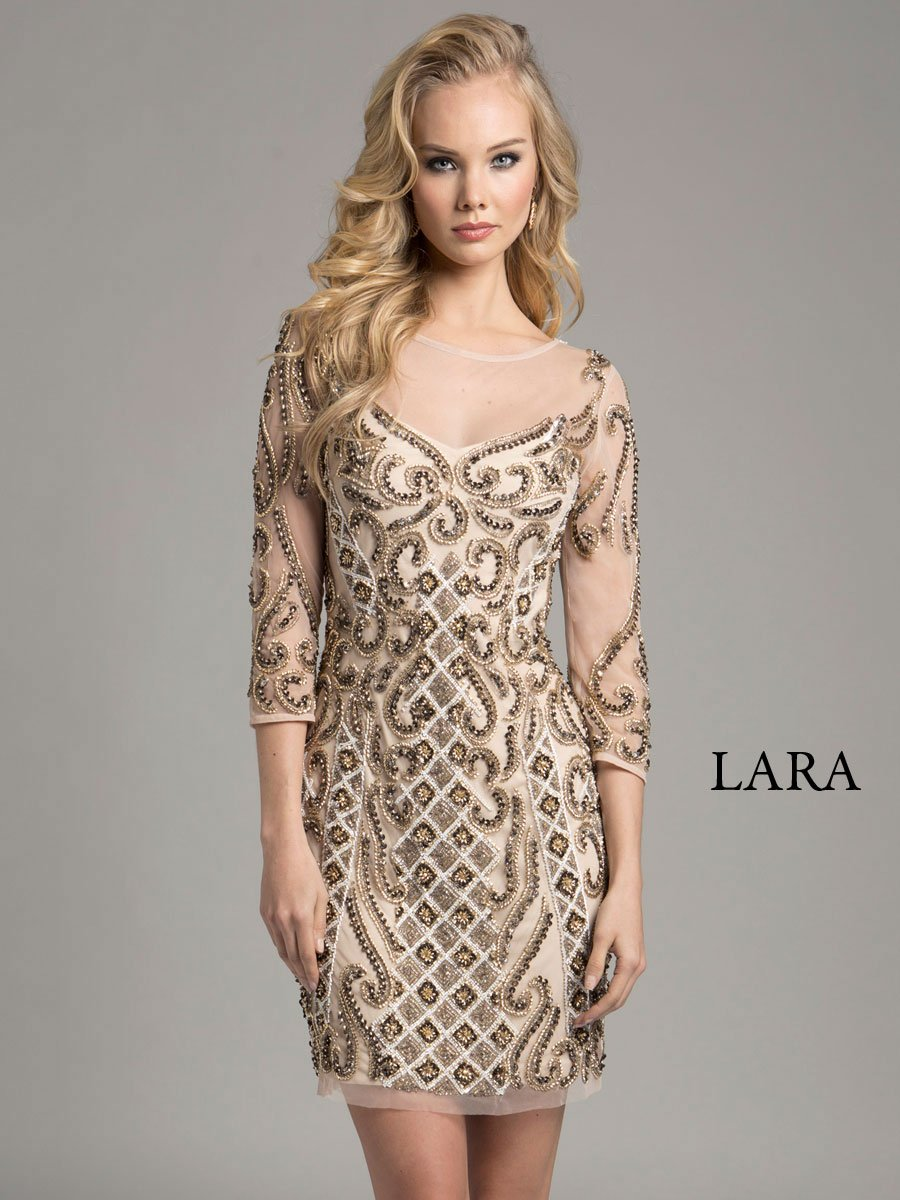 LARA DRESS 33271 - Elbisny
