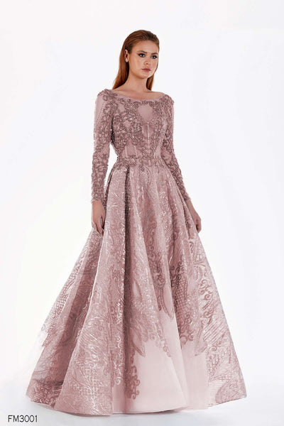 Azzure Couture FM3001 Dress - Elbisny
