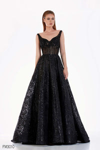 Azzure Couture FM3010 Dress - Elbisny