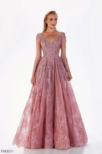 Azzure Couture FM3011 Dress - Elbisny