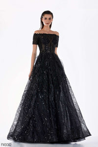 Azzure Couture FM3042 Dress - Elbisny