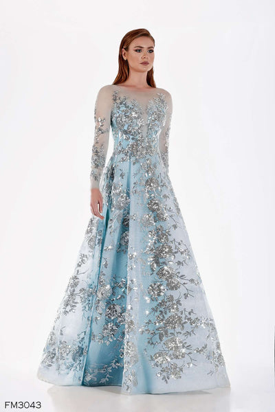 Azzure Couture FM3043 Dress - Elbisny