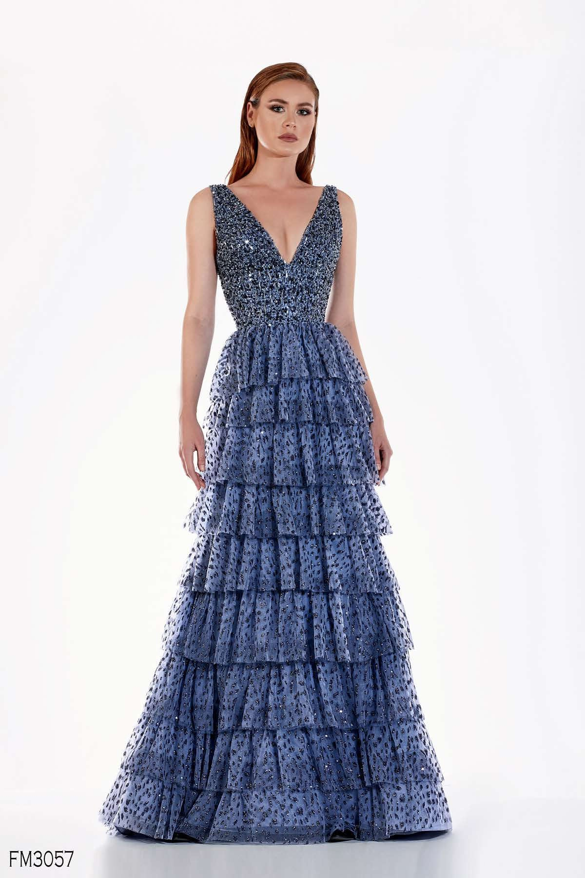 Azzure Couture FM3057 Dress - Elbisny