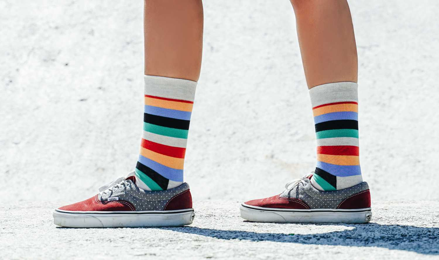 5 Ways to Wear Colorful Socks With Any Outfit
