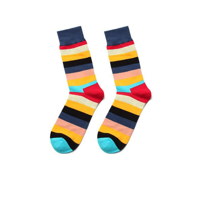 Colorful Stripes Pack Of Socks