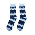 The Blue Waves Socks