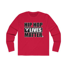 Load image into Gallery viewer, Hip Hop Lives Matter® Men's Long Sleeve Crew Tee