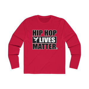 Hip Hop Lives Matter® Men's Long Sleeve Crew Tee