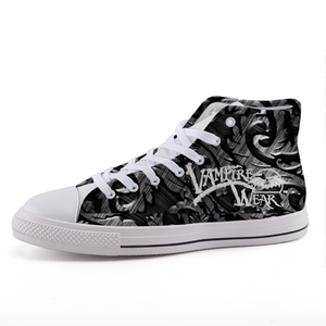 VampireWear® High-top fashion canvas shoes