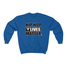 Load image into Gallery viewer, Hip Hop Lives Matter® Unisex Heavy Blend™ Crewneck Sweatshirt