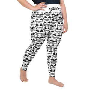 VampireWear® Womens All-Over Print Plus Size Leggings