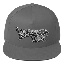 Load image into Gallery viewer, VampireWear® Flat Bill Cap