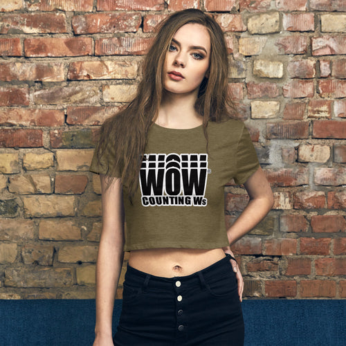 WOW® Counting Ws Women's Crop Tee