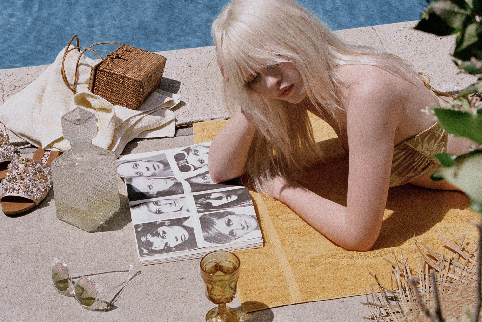 Novella Royale Swim Lookbook by Jason Lee Parry
