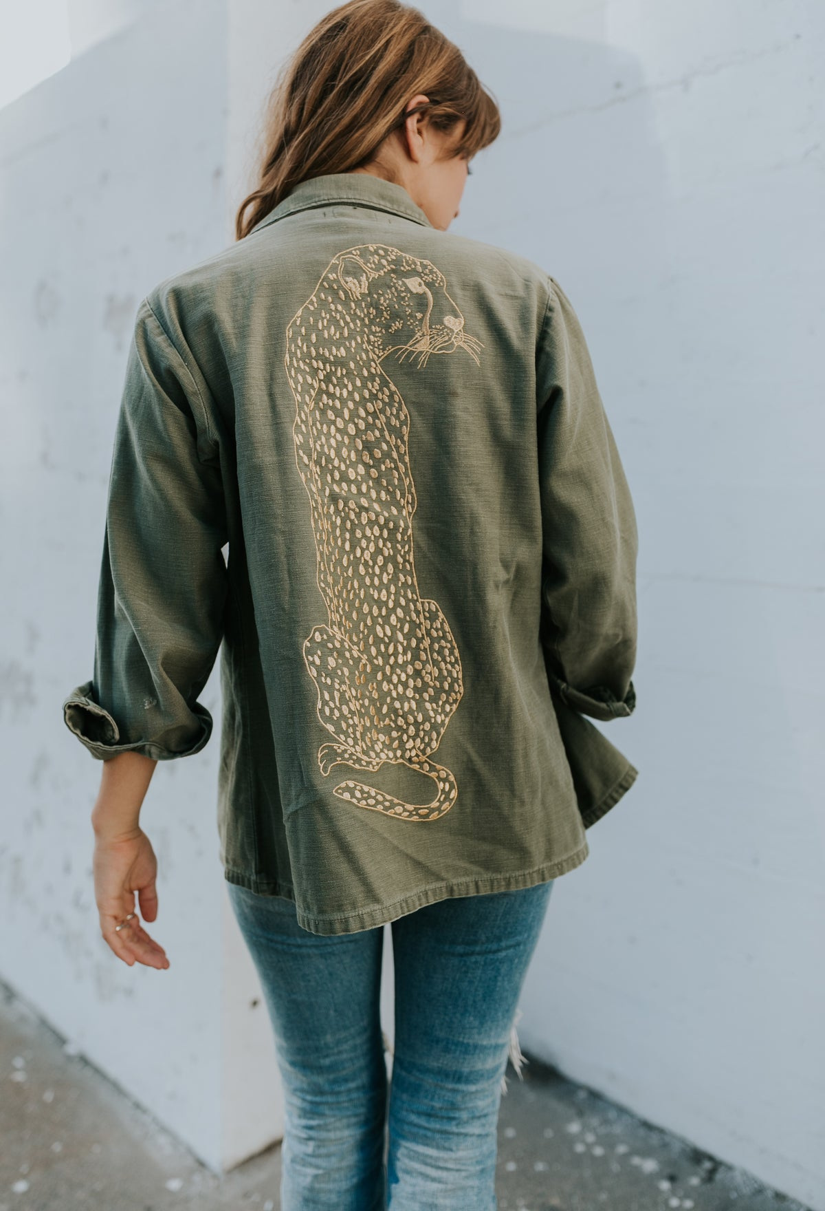 The Vintage Army Jacket