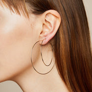 by Chari Large Hoops