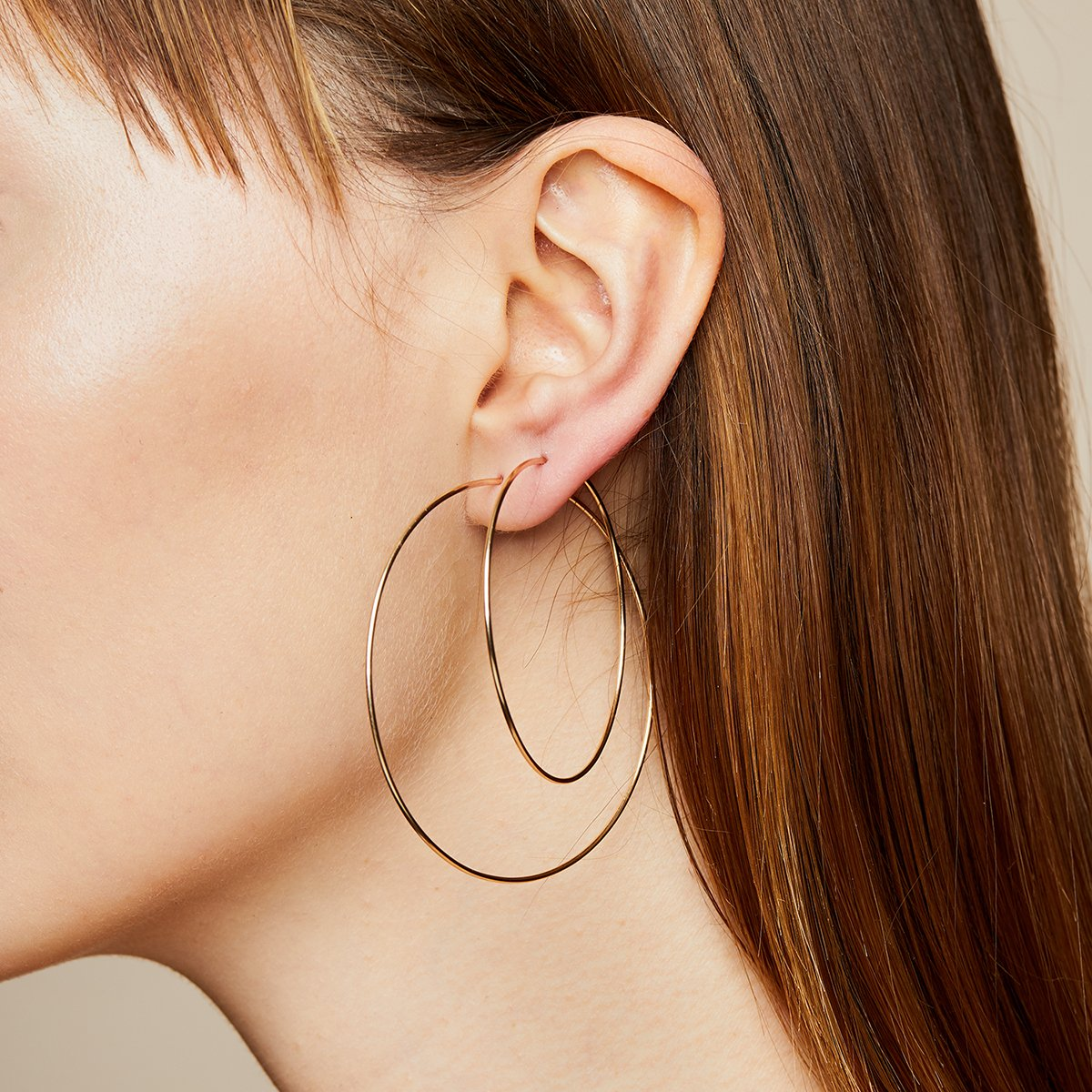 BY CHARI Small Hoops