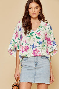 Chic Sleeves Top