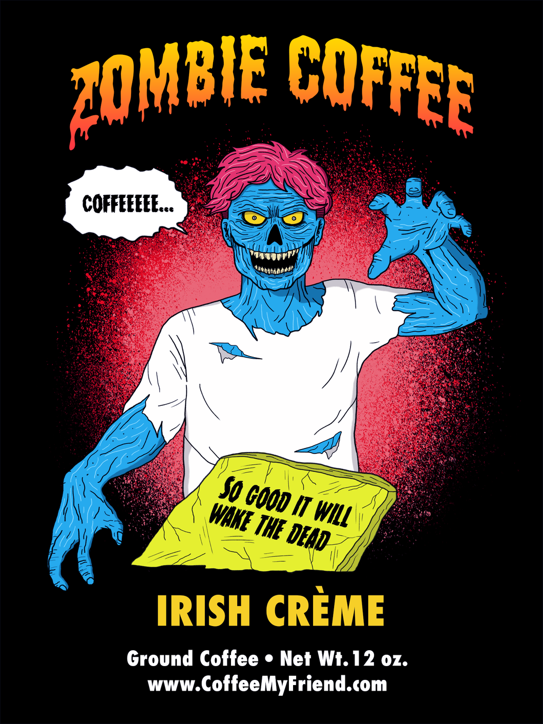 Zombie Coffee Irish Creme