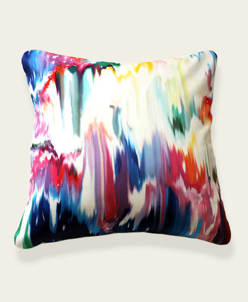 An Lim abstract pillow cover