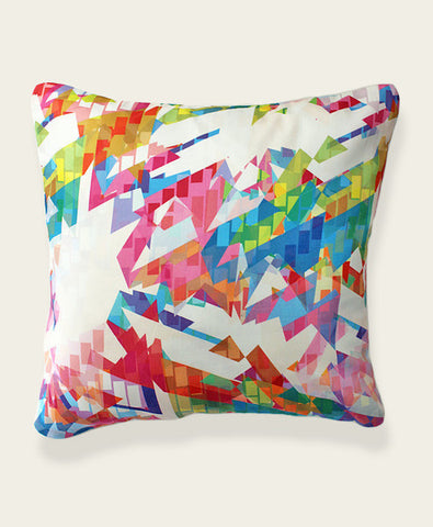 An Lim Kaleidoscope Geometric Pillow Cover