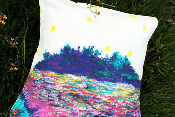 An Lim landscape pillow cover